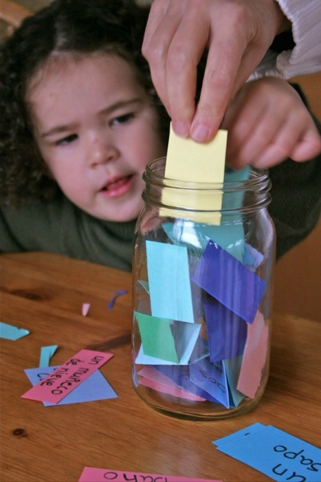 Contar Cuentos with a Story Jar | Preschool Spanish | Scoop.it