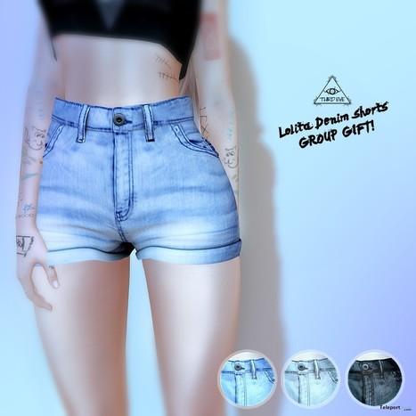 Lolita Denim Shorts Group Gift by Third Eye | Teleport Hub - Second Life Freebies | Second Life Freebies | Scoop.it