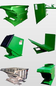Custom Self Dumping Hoppers | Roura Material Handling | Dump hopper | Scoop.it