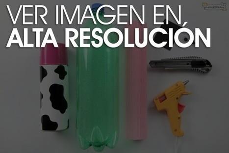 Alcancías hechas con botellas de plástico - Las Manualidades   Talleres   Scoop.it