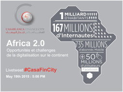 Conférence Afrique 2.0: Opportunités et défis de la digitalisation sur le continent - Astrolab Consulting | Afrique | Scoop.it