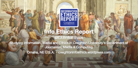 Follow Us on Twitter!   Information Ethics Report   Research Capacity-Building in Africa   Scoop.it