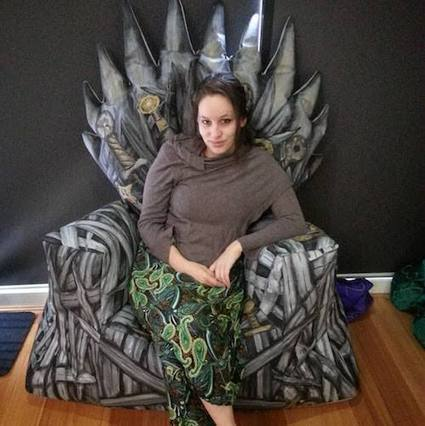 How to Make a Game of Thrones Bean Bag Chair   Inexpensive Furnishings   Scoop.it