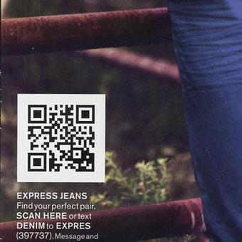 QR Code et SMS, les leviers Web2Store du retailer Express | QR code experience | Scoop.it