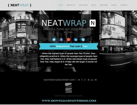 NeatWrap - Responsive Multi Page Theme - Download! New Themes and Templates | Digital brand strategy and marketing | Scoop.it