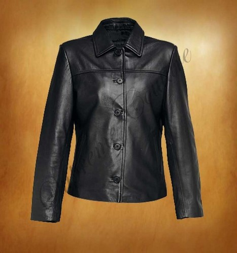 Extol Black with Buttons Women Jacket buy and restore your personality. | WOMEN JACKETS | Scoop.it