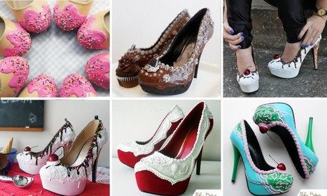 Designer expertly paints mouthwatering shoes that look like cakes   Fashion   Scoop.it