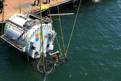 Natick : pourquoi Microsoft invente des data centers sous-marins   Emploi, Travail et Réseaux Sociaux   Scoop.it