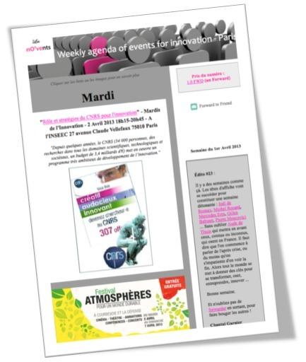 Agenda hebdo - Attention, y a du lourd ! | Actu webmarketing et marketing mobile | Scoop.it