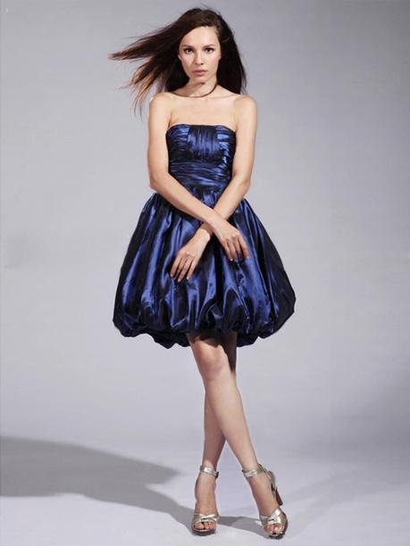 Ball Gown Strapless Taffeta Short/Mini Sleeveless Pick-Ups Evening Dresses at pickedlooks.com | Quinceanera Dresses 2014 | Scoop.it