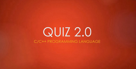 Quiz 2.0 ~ Codeplaza | Build. Share. Fame. | Daily Magazine | Scoop.it
