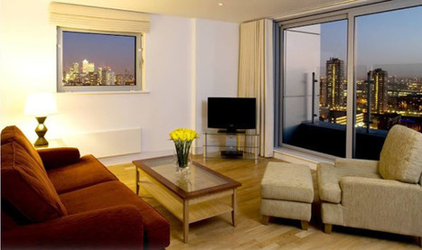 Ceiling To Floor Windows Two Bedroom Penthouse in Aldgate, London - RatedApartments | Serviced Apartments in London | Scoop.it