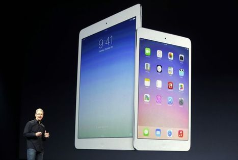 Apple hoping iPad Air will fight off Samsung and Google - The Sunshine Coast Daily | Jojol67 | Scoop.it