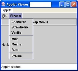 Adv Java - [Swing: Menu] | VAKRATUND CLOUD EDUCATION | Scoop.it