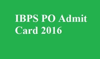 IBPS PO Admit Card 2016 | Mintbeatz | Scoop.it