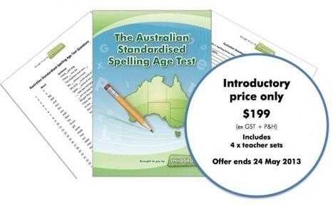 Introducing The Australian Standardised Spelling Age Test | TEFL & Ed Tech | Scoop.it