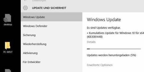 Windows 10 Home: Microsoft korrigiert Update-Funktion | Free Tutorials in EN, FR, DE | Scoop.it