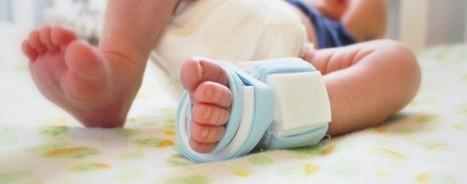 Le mag de la maison intelligente : Une chaussette intelligente, pour surveiller la santé de bébé | E-santé | Scoop.it