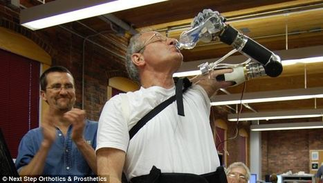Luke Skywalker's Prosthetic Arm Is Now A Reality - Artificial Intelligence Online   Wearables, sensors, medical devices   Scoop.it