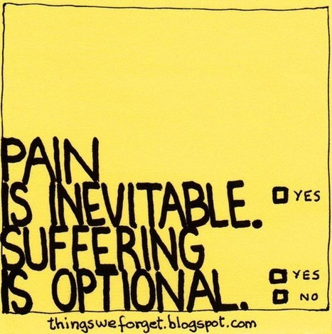 Pain & Suffering | Quote for Thought | Scoop.it