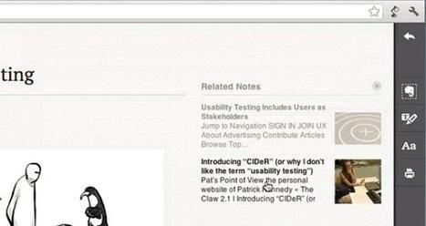 Evernote Clearly trae las notas relacionadas y el resaltado de contenidos | Tic, Tac... y un poquito más | Scoop.it
