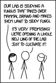 xkcd: Mycology | Twisted Microbiology | Scoop.it