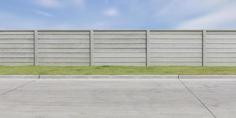 Prix et pose d'une clôture béton   Travaux Extérieurs   Scoop.it