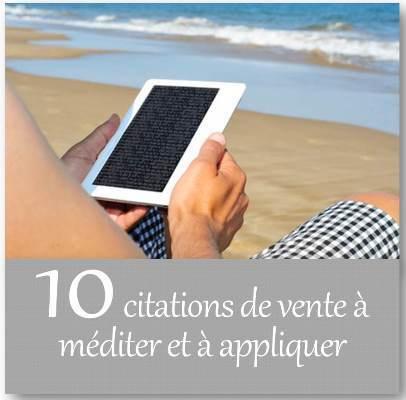 10 citations de vente à méditer et à appliquer! | Meilleures pratiques en vente consultative | Scoop.it