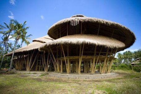 The Green School Showcases Bamboo Construction in Indonesia   Eco-innovation   Scoop.it