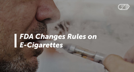What the FDA's New Restrictions on E-Cigarettes Means for You | FOOD? HEALTH? DISEASE? NATURAL CURES??? | Scoop.it