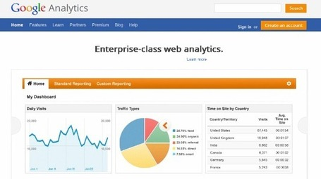 8 ways to use Google Analytics beyond keywords | WEBOLUTION! | Scoop.it