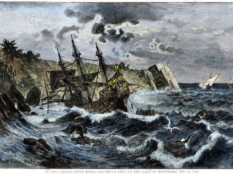 Exclusive: Found after 500 years, the wreck of Christopher Columbus's flagship the Santa Maria | Water,lakes and seas. | Scoop.it
