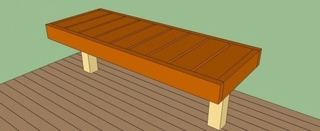 How to build a deck bench | HowToSpecialist - How to Build, Step by Step DIY Plans | Deck Projects | Scoop.it