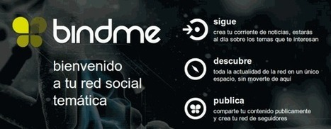 bindme, una nueva forma de seguir y acceder a contenidos y personas en la red.- | Marketing Social Media Strategy Technics | Scoop.it