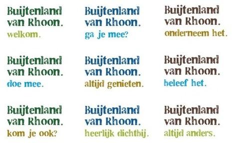 Buijtenland van Rhoon | Ontwerpwerk | Huisstijl | Scoop.it