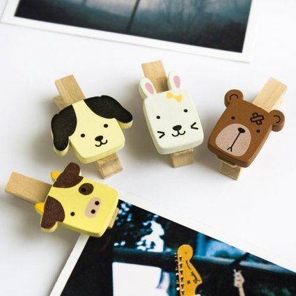 [Cute Animals-1] – Wooden Clips / Wooden Clamps / Mini Clips For Great Deals | Tessa Winship.com Author Chloe the curly necked giraffe | Scoop.it