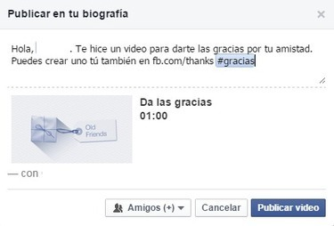 Da las gracias a tus amigos en Facebook con Thanks | Social Media - Redes Sociales | Scoop.it