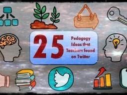 25 Pedagogy Ideas that Teachers found on Twitter | The DigiTeacher | Scoop.it