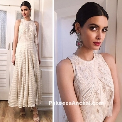 Diana Penty Tarun Tahiliani outfit at the Kapil Sharma show | Indian Fashion Updates | Scoop.it