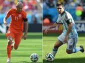 Lionel Messi, Arjen Robben in World Cup semifinal - SFGate | FIFA World Cup 2014 | Scoop.it