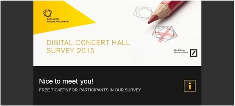 Digital Concert Hall Survey 2015 | digital technologies in classical music & opera | Scoop.it