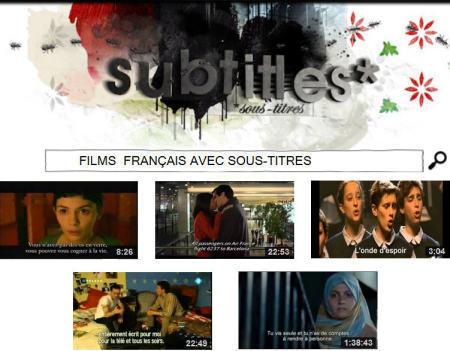 Cinéma - Films français avec sous-titres | le français: ma passion | Scoop.it