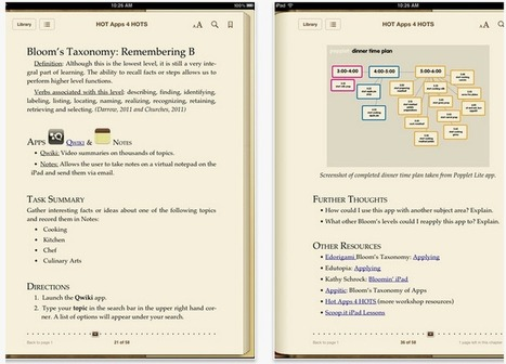 Teacher's Guide to Using Free iPad Apps to Supp... | Educational Technology Integration | Scoop.it