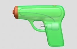 Gun Control Advocates Reportedly Convince Apple to Replace Revolver Emoji With Squirt Gun | Communications Major | Scoop.it