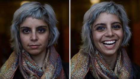 Student Captures What Happens When People Are Told They Are Beautiful | Ladies Community | Scoop.it
