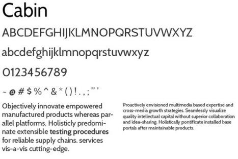 10 Free Sans Serif Fonts Everyone Should Have | Free Design Tools | Scoop.it