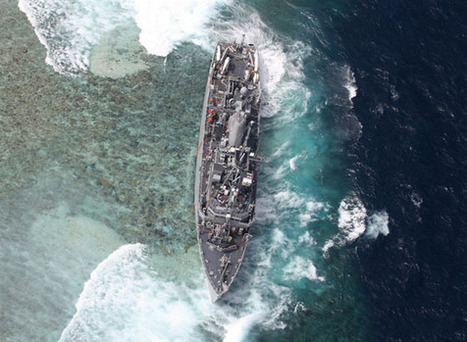 US Navy Ship Ignored Warning Before Ramming Pristine Coral Reef | All about water, the oceans, environmental issues | Scoop.it