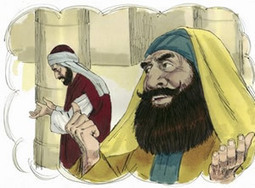 The Pharisee and the Tax Collector Coloring Pages | Resources for Catholic Faith Education | Scoop.it