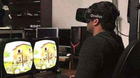 Virtual reality sickness 'tackled with field of view trick' - BBC News | 3D Virtual-Real Worlds: Ed Tech | Scoop.it