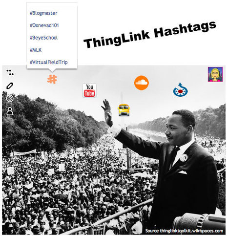 Six Ways to Use ThingLink Hashtags in education | ThingLink Blog | Cool Tools for Common Core Connections | Scoop.it